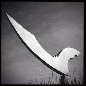 Bat Statue, Austin TX (c) MMD